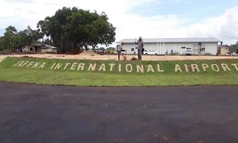 Jaffna International Airport is now closed due to Covid-19
