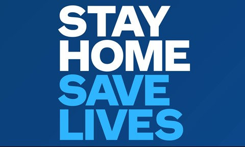 Stay Home, Save Lives to control this pandemic situation