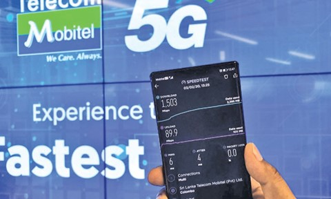 Mobitel demonstrates 5G at One Galle Face Mall