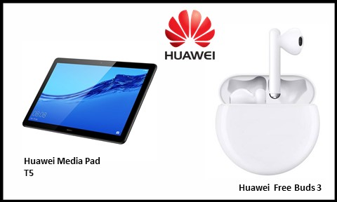 Huawei Media Pad T5 and Free Buds 3 Facilitate Work from Home Plus Seamless Entertainment