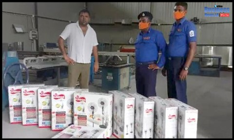 Navy receives electric fans from Southern Airduct (Pvt) Ltd