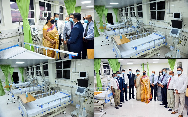 Dialog Axiata Gifts Fully-functional ICU at Negombo General Hospital to the Public
