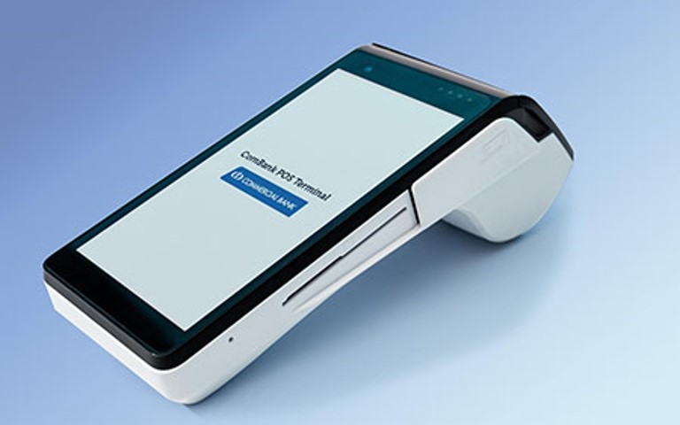 ComBank launches country's first LANKAQR code enabled Android POS device with PAYable